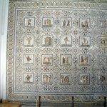 A Complete Roman calendar  Mosiac