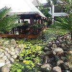 Hotel grounds - near restaurant