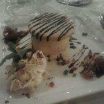 Un dessert servito al ristorante di Chez Walter