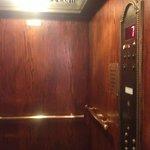 Inside Elavator