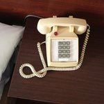 Telephone in room, like going back in time