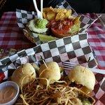 Huey's burgers!