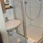 Neuer Duschbereich
