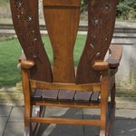 A piece of the furniture that is made at the gardens