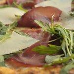 Pizza 68- Bresaola, rucola e scaglie di grana