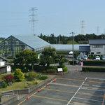 製茶工場からの眺め