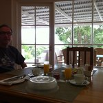 Frühstück im Lounge