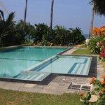 The salt-water infinity pool