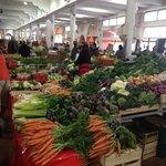 fresh vegetables from the Var at Forville market