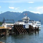 The Osprey 2000 at Kootenay Bay Terminal