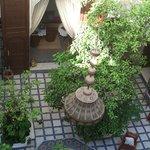 Patio, vu de la terrasse