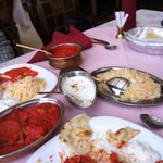 Chicken butter and Chicken tikka masala