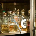 A smal selection of our grappa, more then 60