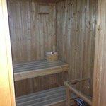 Sauna in the bathroom
