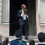 Maximiliano en el Rally Histórico