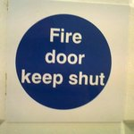 here is what you should do with a fire door!