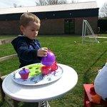 Tea party at Bucks Farm