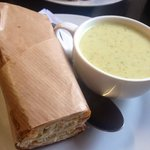 beautiful soup and pannini