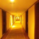 部屋への廊下