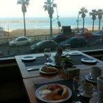 Blick aus dem Frühstückssaal