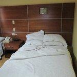 Vista de una de las camas