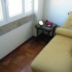 room 204 indoor balcony area