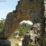 """Ce rocher a servi de décor naturel pour """"La grande vadrouille"""""""