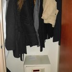 Safe in suite and large closet