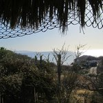 Sitting on the porch of my palapa in the afternoon