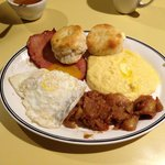 """This is not on the menu!  Special """"country breakfast."""""""