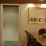Inside the Spice Café