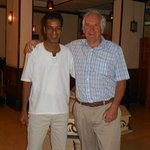 resturant owner Talaat and myself