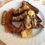 Chocolate French Toast with Sauteed Bananas-Ashleys Signature