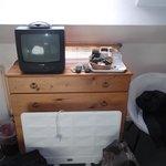 """Oil raditor & 12"""" non LCD television"""