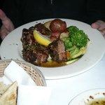 Tender lamb Greek-style
