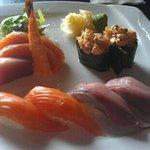 sashimi plate.