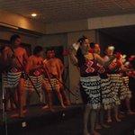 Maori performers at Hungi Feast
