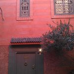 Front view of Riad