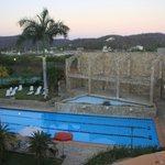 vista piscina y marina de Chahue