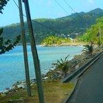 The long winding roads of Grenada