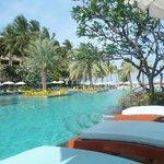 Beautiful main pool area