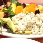 pineapple fruit salad with chicken