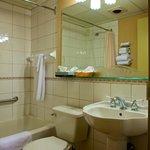 Salle de bain chambre Hospitalité à un lit Queen