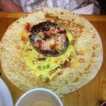 Burger Omlette