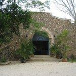 The entrance to Hacienda Selva Maya- Yukatan buffet- FABULOUS!