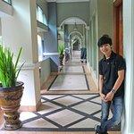 archways at the Hotel Geulis Bandung