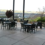Patio and view