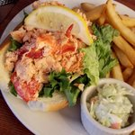 Lobster rolls as big as your head!