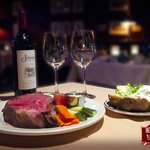 Try our prime rib...it's delicious!