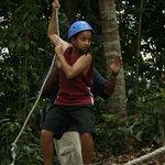 Low ropes adventure